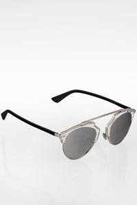 Dior So Real Silver Metal Sunglasses with Acatate Arms
