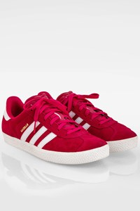 Adidas Fuchsia Suede Gazelle Sneakers / Size: 37 1/3 - Fit: 38