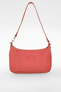 Longchamp Antique Pink Nylon Shoulder Bag