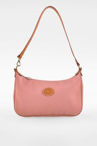 Longchamp Dusty Pink Nylon Shoulder Bag