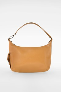 Longchamp Beige Leather Shoulder Bag