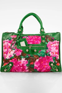 Balenciaga Floral Weekender Giant 21 Travel Bag