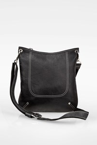 Longchamp Black Crossbody Leather Bag