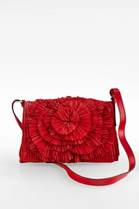 Valentino Garavani Flower Leather Crossbody Bag