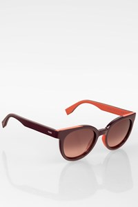 Fendi Burgundy FF0150/S Acetate Sunglasses