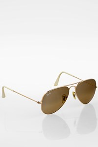 Ray Ban Gold RB 3025 001/51 Aviator Sunglasses