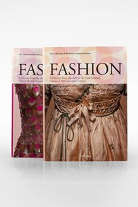 """Taschen Coffee Table Book in Two Volumes""""Fashion: A History from the 18th to the 20th Century Volume I & II"""""""