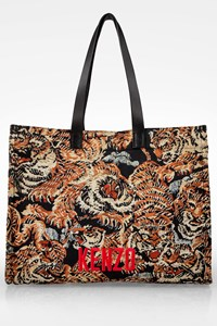 Kenzo Multicoloured Jungle 'Flying Tiger' Tote Bag