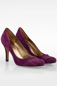 Nine West Purple Suede Pumps / Size: 8M (38) - Fit: 38.5