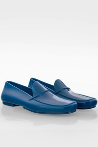 Cesare Paciotti Electric Blue Men's Jelly Loafers / Size: 41 - Fit: True to size