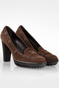 Tod's Brown Suede Pumps / Size: 41 - Fit: True to size