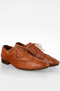 Paul Smith Tan Leather Broques / Size: 41 - Fit: True to size