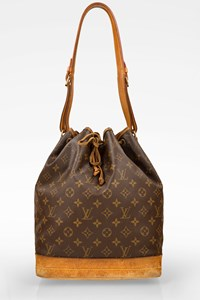 Louis Vuitton Brown Noé Monogram Bucket Bag
