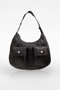 Blugirl Black Leather Shoulder Bag