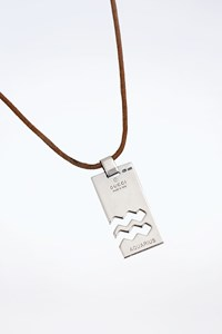 Gucci Aquarius Zodiac-Sign Silver 925 Pendant