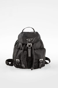 Prada Black Small Nylon Backpack