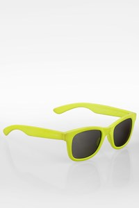 Italia Independent 0090 Neon Lime Green Acetate Sunglasses
