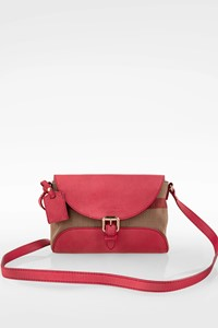 Burberry Dusty Pink Henham Small Crossbody Bag