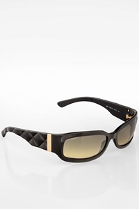 Chanel 5052 Black Quilted Acetate Sunglasses