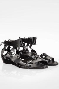 See by Chloé Black Amy Jelly Sandals / Size: 36 - Fit: True to size