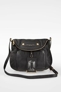 Marc By Marc Jacobs Black Preppy Leather Crossbody Bag