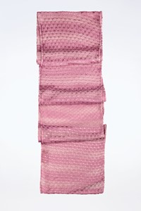 Missoni Lilac Lightweight Knitted Scarf