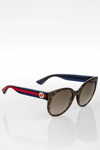 Gucci GG 0035S Acetate Sunglasses with Tortoise Shell