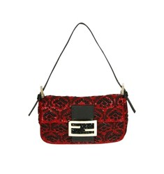 Fendi Mini Baguette Small Embellished Bag
