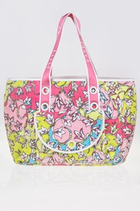 Emilio Pucci Terry Beach Bag in Pink Shades