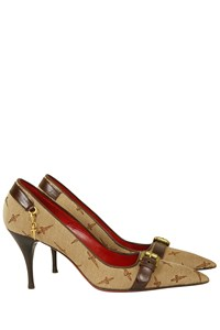 Cesare Paciotti Logo Pointed Pumps