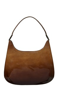 Ferragamo Ombre Leather Shoulder Bag