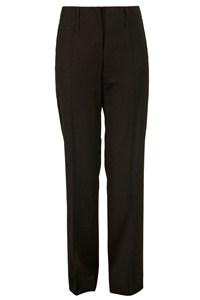 Burberry Black Pressed Trousers