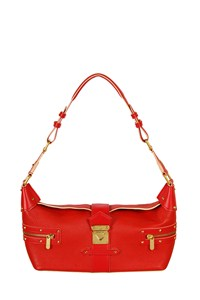 Louis Vuitton Suhali L'Impetueux Red Leather Shoulder Bag