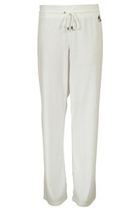 Burberry White Track Pants