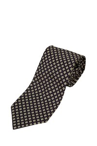 Fendi Ink Blue Daisy-Print Tie