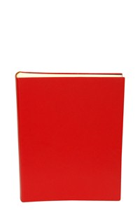 Prada Red Leather Photo Album