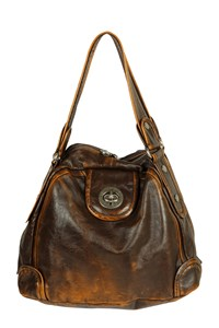 Marc By Marc Jacobs Punk Posh Dot Chocolate Leather Bag