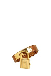 Hermès Kelly Watch with Leather Strap