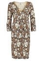 DVF Elena Printed Silk Jersey Dress