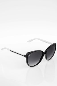 Gucci GG3162/S Black and White Acetate Sunglasses