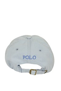 Polo Ralph Lauren Light Blue Canvas Jockey Hat