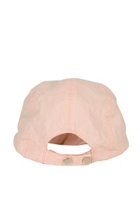 Burberry Light Pink Canvas Jockey Hat