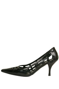 Prada Cage Black Pumps