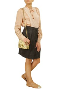 Chloe Blush Silk Shirt