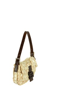 Fendi Baguette Mother-of-Pearl Shoulder Bag