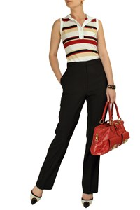 Stella McCartney Black High-Waisted Trousers