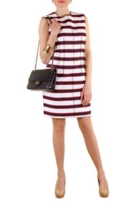 D&G Dress with Red and Blue Stripes