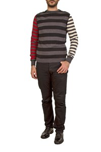 Moschino Striped Wool Jumper