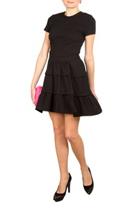 DVF Kerrishang Black Knitted Dress