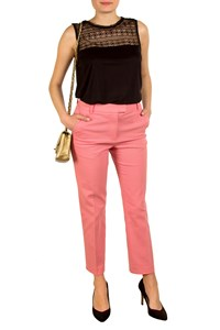 3.1 Phillip Lim Pink Cropped Pencil Pants